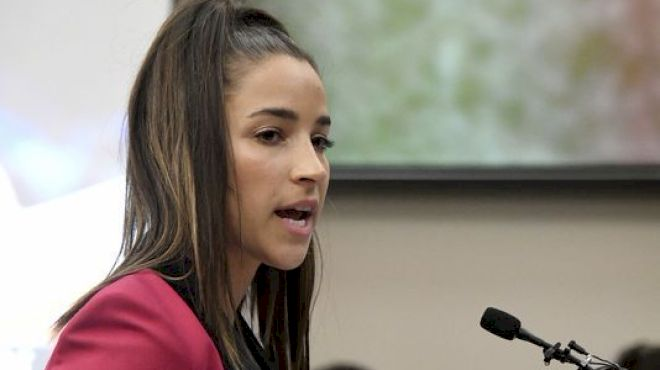 Aly Raisman Flips The Switch On Abuse, Partners With Darkness To Light