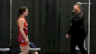 50 lbs Rr Rnd 2 - Aleeah Gould, Team Burkert vs Erin Golston, Team Miracle