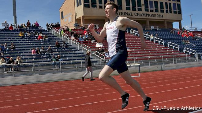 Division II Star Thomas Staines Building On Parents' Olympic Legacy