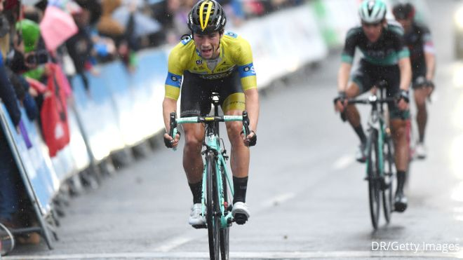 Race Review: Roglic Survives Crash To Claim Basque Country Win