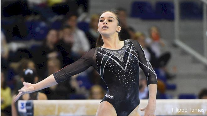 Team Italy Atop Podium In Front Of Home Crowd; Urazova AA Champ