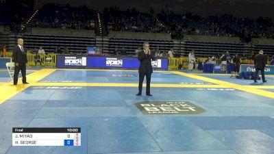 JOAO MIYAO vs HIAGO GEORGE 2019 Pan Jiu-Jitsu IBJJF Championship