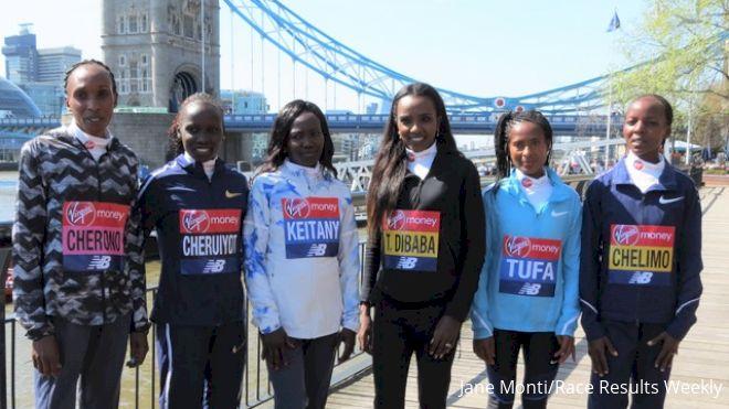 Will Male Pacers Help Women Break World Record At London Marathon?
