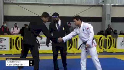 Matheus De Oliveira vs Andre Dos Santos Gois 2020 American National IBJJF Jiu-Jitsu Championship