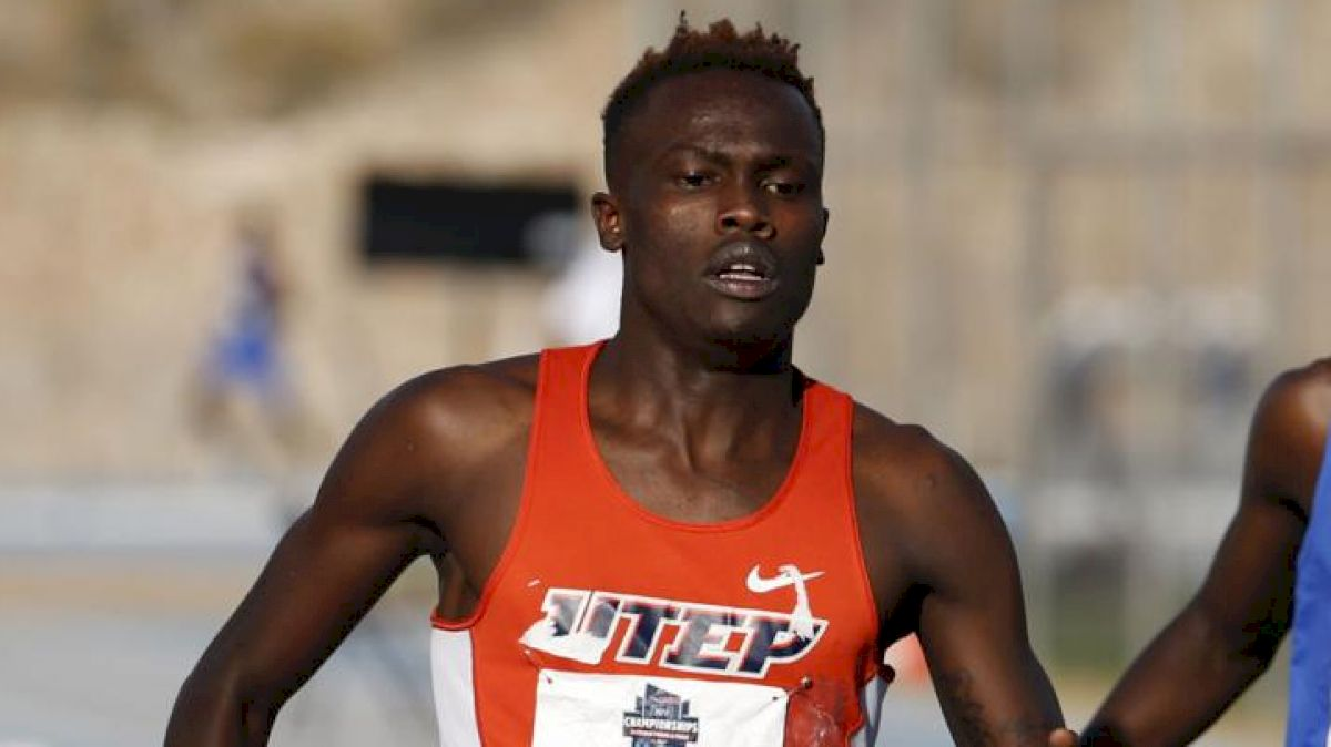 UTEP's Michael Saruni Breaks Donavan Brazier's NCAA 800m Record 1:43.25