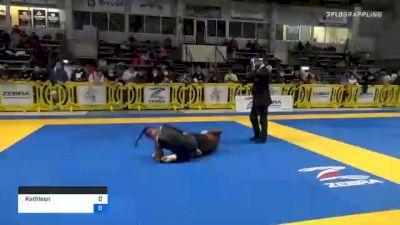 Kathleen Egan vs Aria C Frazer 2020 American National IBJJF Jiu-Jitsu Championship