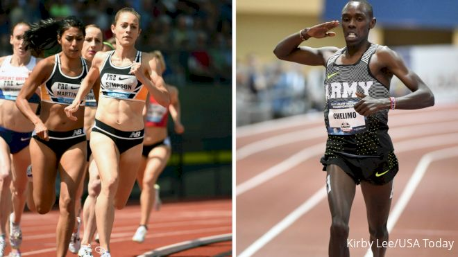 House Of Run: Simpson Breaks American Record, Centrowitz vs Chelimo