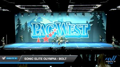 Sonic Elite Olympia - Bolt [2020 L2 Junior - Small Day 2] 2020 PacWest