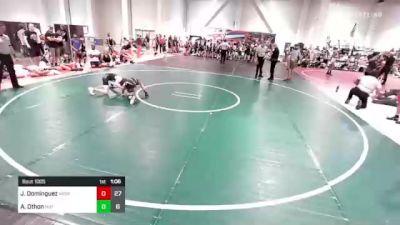 82 lbs Rr Rnd 3 - Jacob Dominguez, Aggression vs Alex Othon, Mat Demon WC