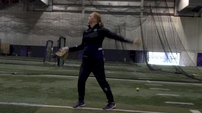 Michelle Gascoigne: Two Circle Pitching Drill