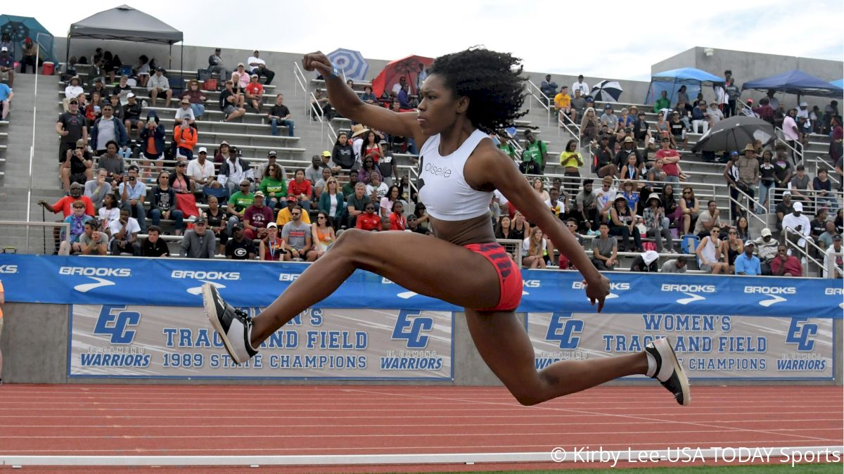 Tori Franklin Crushes U.S. Triple Jump Record, PRs 5 Times In Insane Series