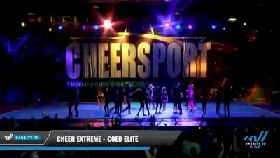Cheer Extreme - Kernersville - Coed Elite [2021 L6 Senior Coed - Small Day 2] 2021 CHEERSPORT National Cheerleading Championship