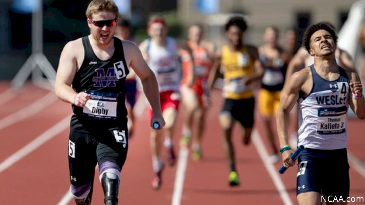 NCAA Records, 4x400m Drama Highlight 2018 DII & DIII Outdoor Championships