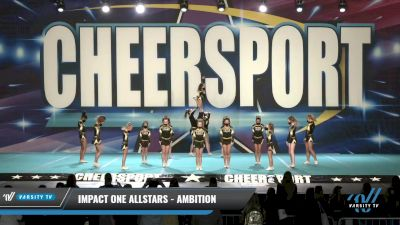 IMPACT ONE Allstars - AMBITION [2021 L2 Junior Day 1] 2021 CHEERSPORT: Charlotte Grand Championship