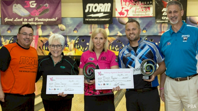 picture of 2018 STORM PBA/PWBA Striking Against Breast Cancer Mixed Doubles