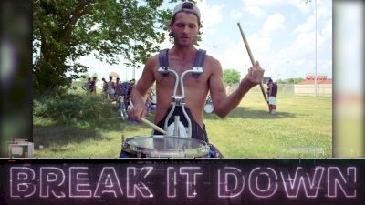 Break It Down: 2018 Bluecoats Snare Feature