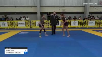 SAMANTHA LYN SEFF vs KARLA VANESSA SHELLHAMMER 2021 Pan IBJJF Jiu-Jitsu No-Gi Championship
