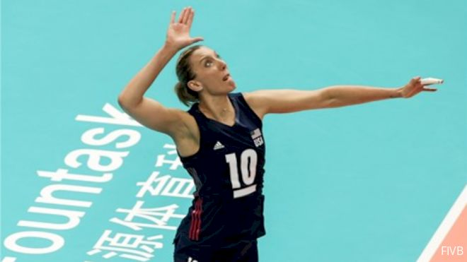 USA Women Punch Ticket To Semis With Sweep Of Serbia