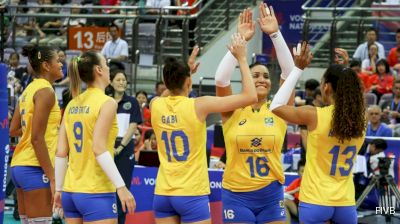 Brazil vs. China - 2018 Women's VNL Bronze Medal Match