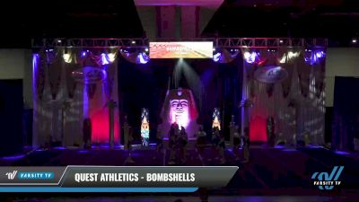 Quest Athletics - Bombshells [2021 L4.2 Senior Day 2] 2021 Queen of the Nile: Richmond