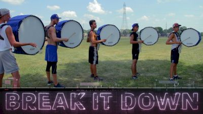 Break It Down: Bluecoats Basses