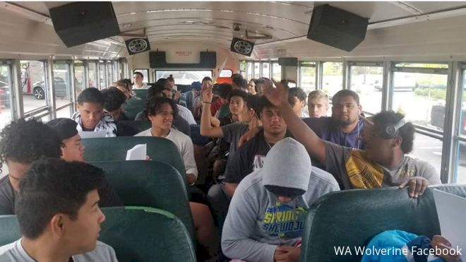 WA Wolverines Endure Busted Bus And No Sleep At Northwest RCT