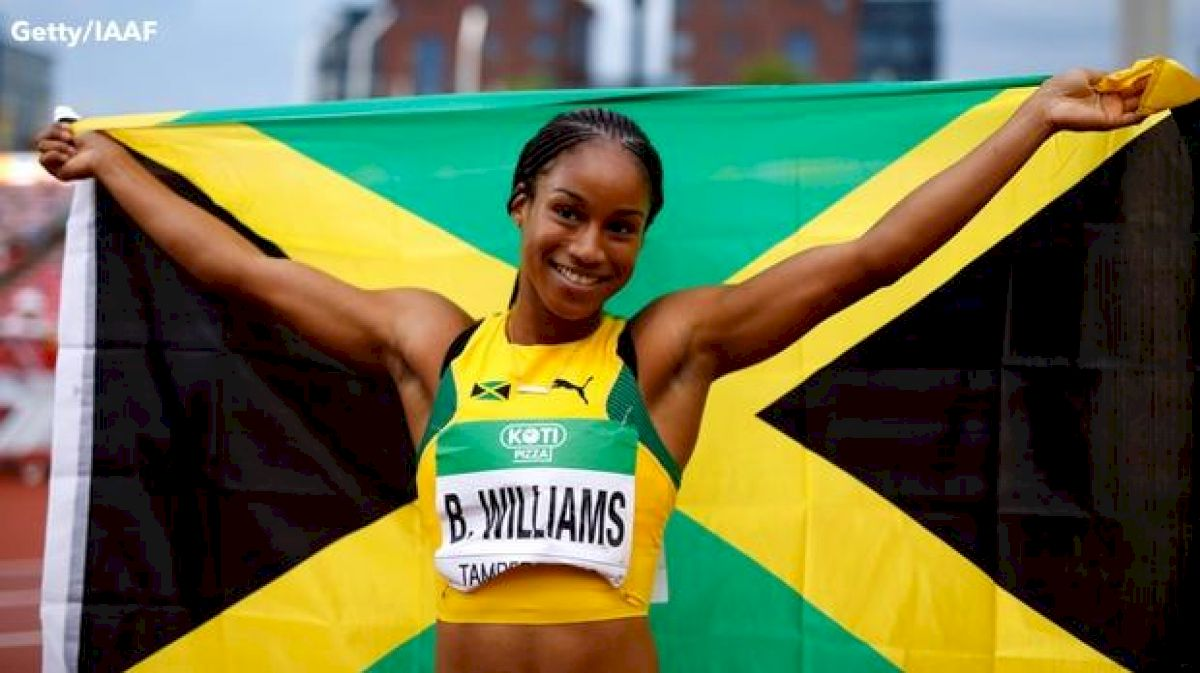 U20s Day 3 Recap: Briana Williams' Best Race Of 2018
