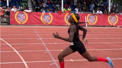 2018 AAU Club Nationals Highlight: 13yo Cha'iel Johnson Breaks 800m Record