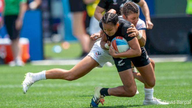 Close Losses Spell 4th For USA Women At RWC 7s