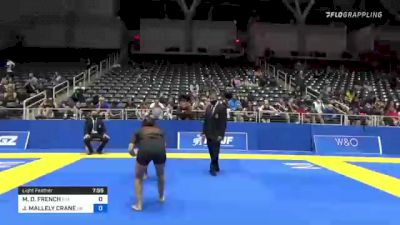 MARIANGEL D. FRENCH vs JESSICA MALLELY CRANE 2021 World IBJJF Jiu-Jitsu No-Gi Championship