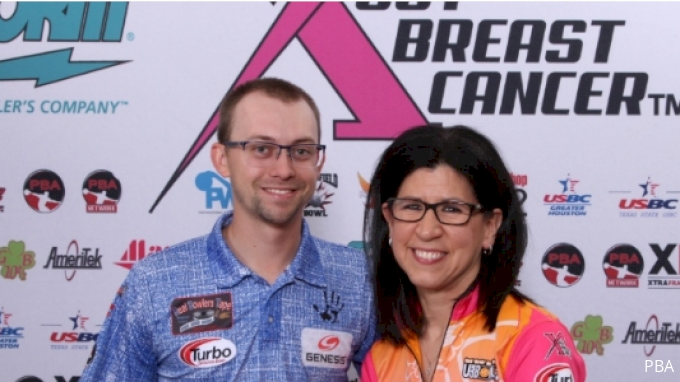 picture of 2019 Storm PBA/PWBA Striking Against Breast Cancer Mixed Doubles