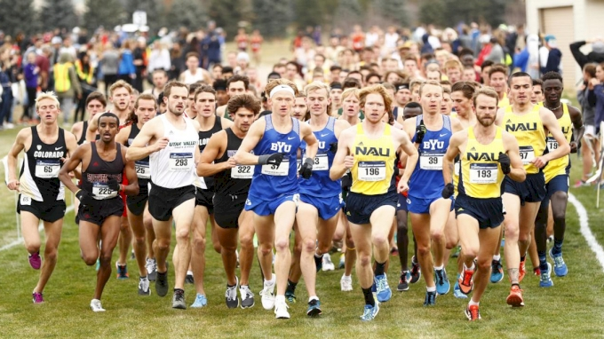 picture of 2018 DI NCAA Mountain XC Regional