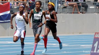 Girls' 800m, Final - Age 13 - Cha'iel Johnson defends her crown