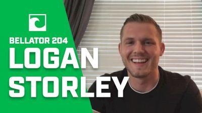 Logan Storley Talks Bellator 204, Working & Michael Chandler Friendship