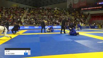 NIVIA DE SOUZA MOURA vs ALISON VICTORIA TREMBLAY 2019 World Jiu-Jitsu IBJJF Championship