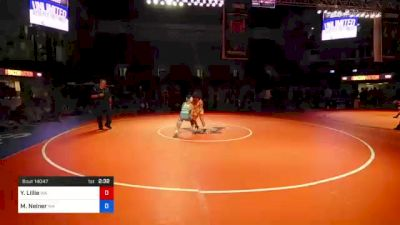 120 lbs 7th Place - Yusief Lillie, Washington vs Mitchell Neiner, Washington