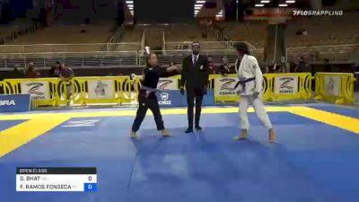 GEETA BHAT vs FERNANDA RAMOS FONSECA 2020 World Master IBJJF Jiu-Jitsu Championship