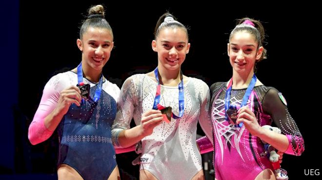 Junior European Gold For D'Amato, Klimenko, Villa, Stanciulescu