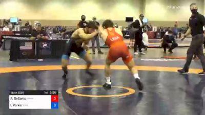 61 kg 3rd Place - Austin DeSanto, Hawkeye Wrestling Club vs Ian Parker, Cyclone Regional Training Center C-RTC