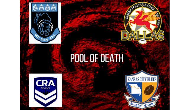Club 7s Nationals Men's Pool Of Death: Pool C