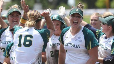 Australia vs Chinese Taipei   2019 WBSC Olympic Qualifier Asia-Oceania