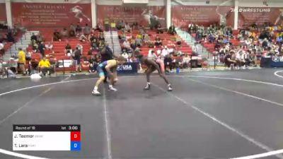 70 kg Prelims - Jacori Teemer, Sunkist Kids Wrestling Club vs Triston Lara, Panther Wrestling Club RTC