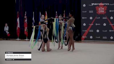 Olympia Junior Group - 5 Ribbons, Olympia Rhythmic Gymnastics