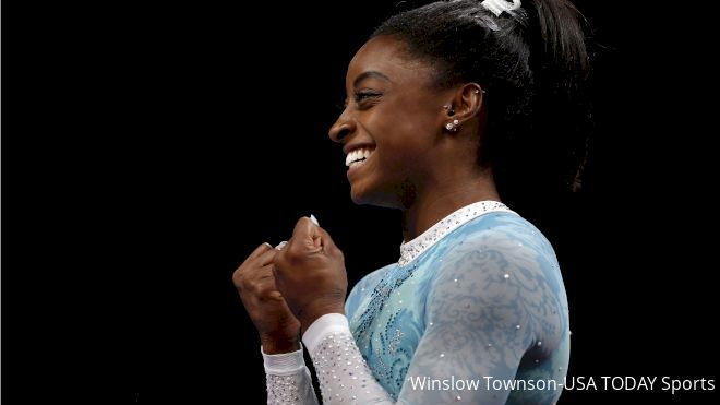 USA, Biles Dominate Women's Worlds Qualifications