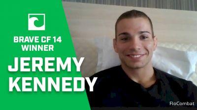 Jeremy Kennedy Discusses Brave CF Debut, Future Plans