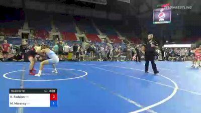 145 lbs Round Of 16 - Richard Fedalen, Maryland vs Maclain Morency, Ohio
