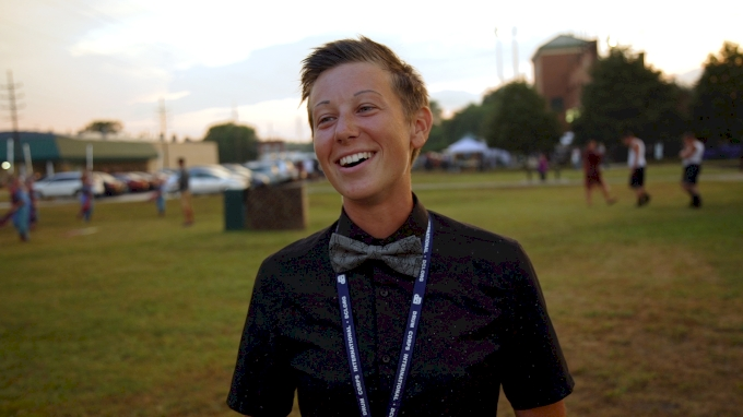 The Only Female Drill Designer In DCI