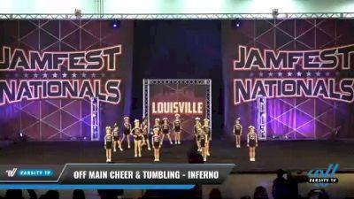Off Main Cheer & Tumbling - Inferno [2021 L1 Mini - D2 Day 2] 2021 JAMfest: Louisville Championship
