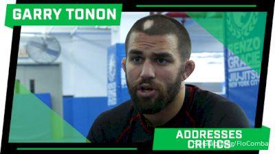 Garry Tonon Talks Criticisms, Difference Between Grappling & MMA
