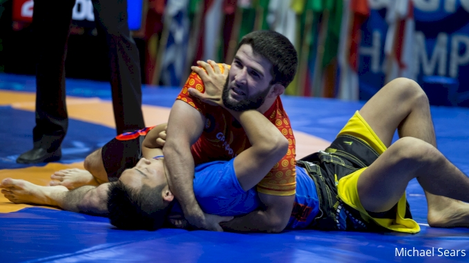 picture of 2021 UWW Senior World Grappling Championships